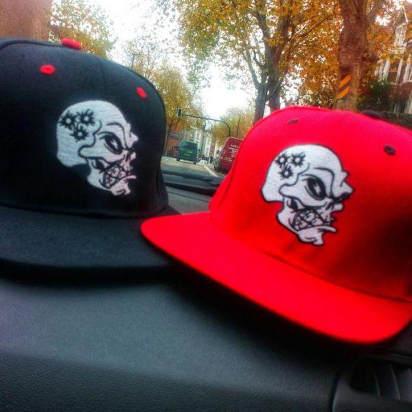 Purge Skull Cap (snapback) - 2 Farben