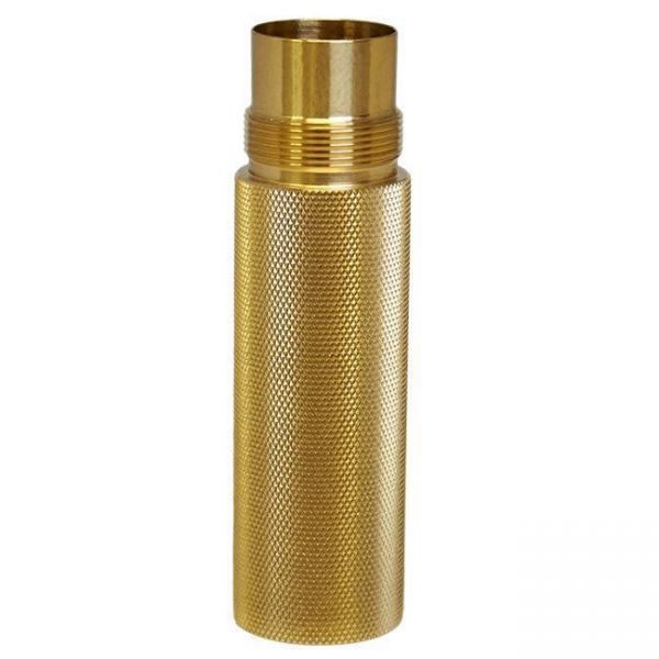 Purge Stacking Tube - brass knurled - 20700