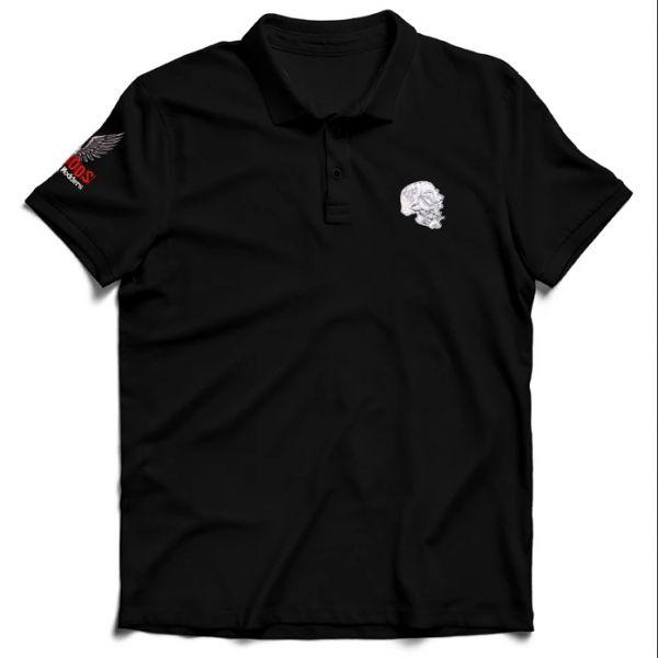 Purge Polo Shirt - 2 fach bestickt - S bis 3XL