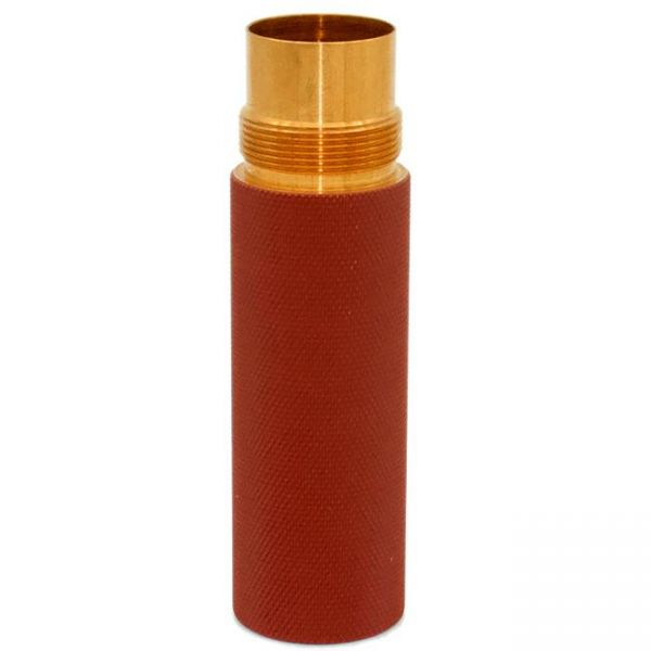 Purge Stacking Tube - red knurled - 20700