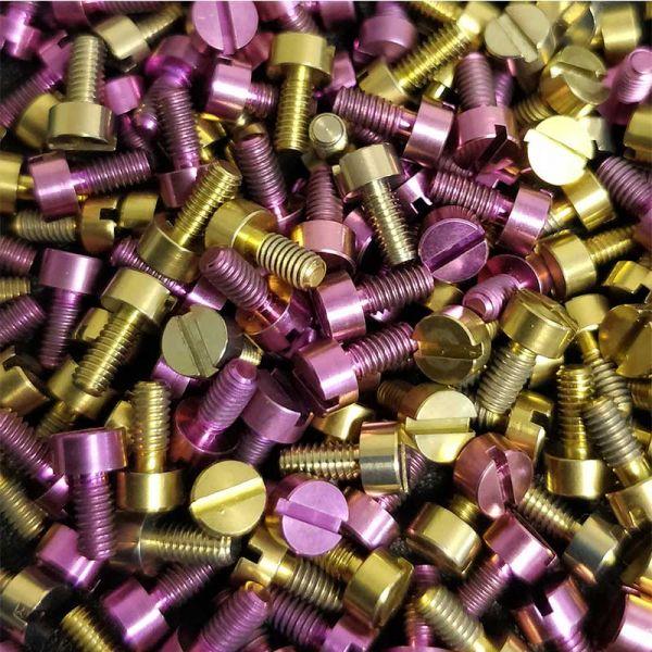 Armageddon Titan Schrauben - gold & pink - siehe Beschreibung wg Passform