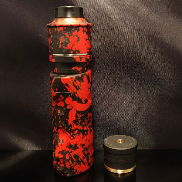 coated Armageddon LE Siege Mod - mit Elite V3 - black with red splatter