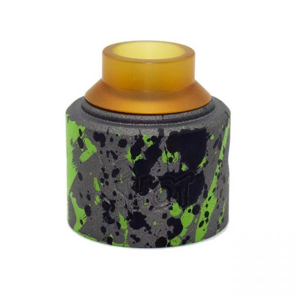 Purge Money Shot Cap - Tungsten green splatter