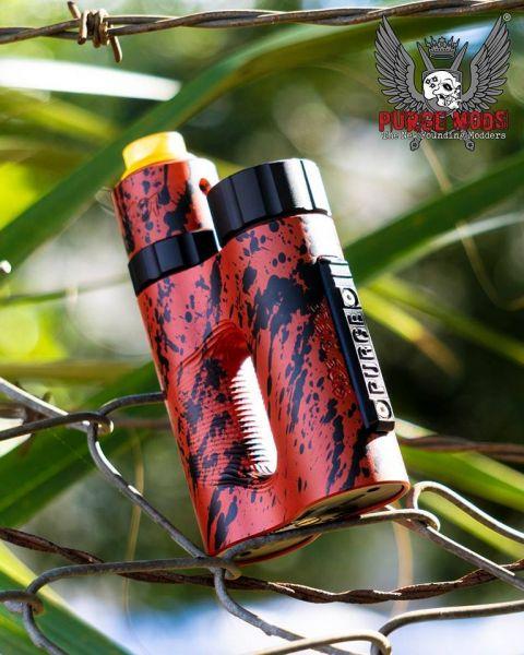Purge Side Piece Setup - Red black splatter mit MoneyShot & Deck