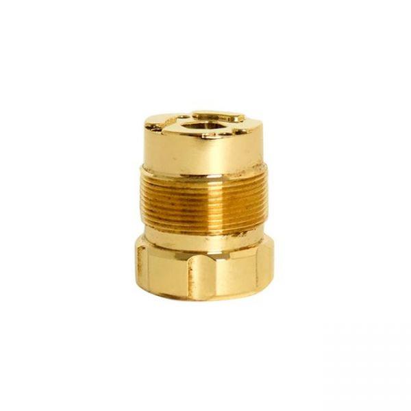 Legacy Mods Button housing - brass notch