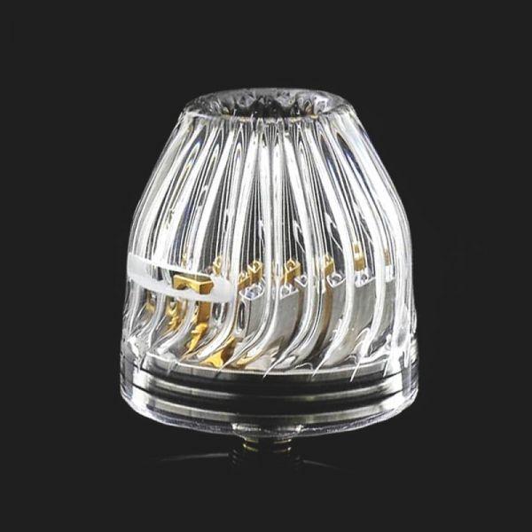 Glass Crown Cap - Zubehör für RDA - 3 Types