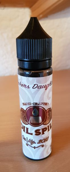 Coil Spill - Bakers Daughter - 50ml / 0mg - MHD10/2018