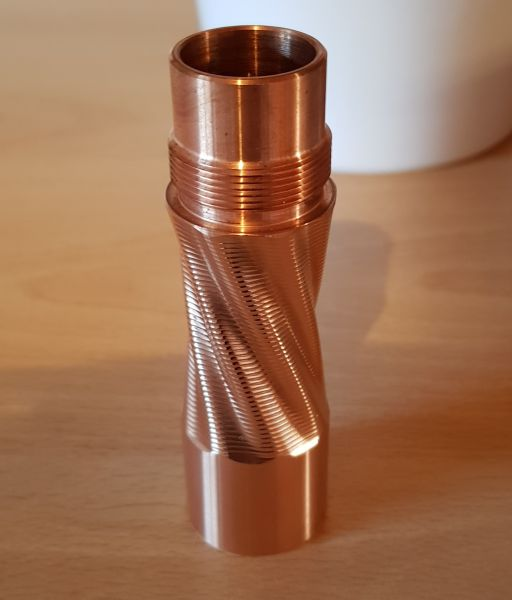 Purge - Stacking Tube - Twiztid Copper 18650