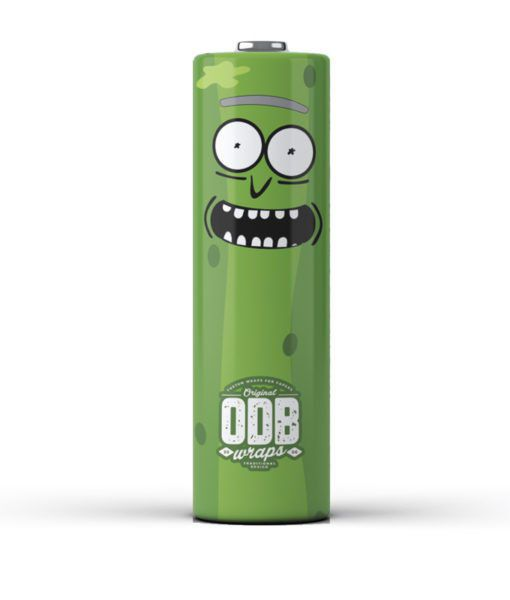 Pickle Rick - 4er Pack - 18650