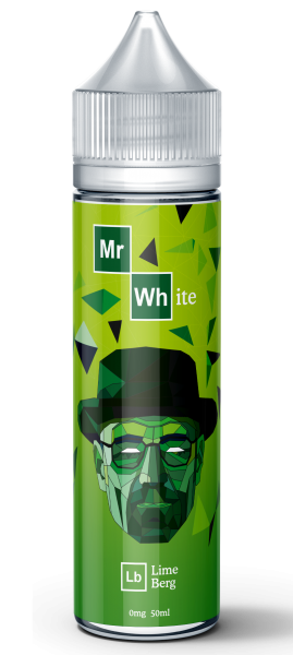 Mr White - Heisenberg Twists - 3 flavours - 0mg - 50ml shortfill