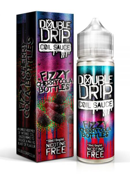 Fizzy Cherry Cola Bottles by Double Drip - 0mg / 50ml