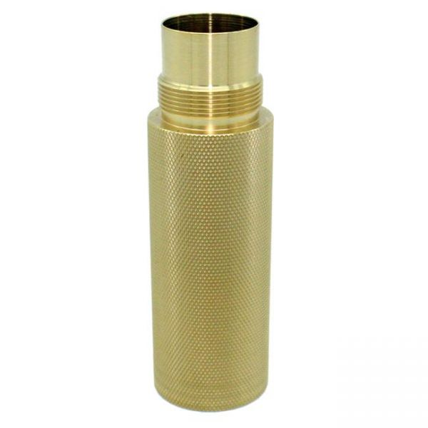 Purge Enforcer Stacking Tube - knurled brass