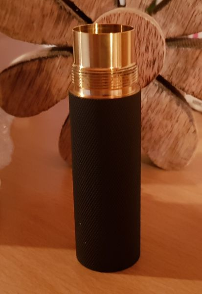Purge Stacking Tube - black knurled - 20700